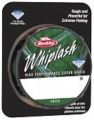 Шнур Whiplash Green 110m 0.08mm, 12,3kg (1345326)